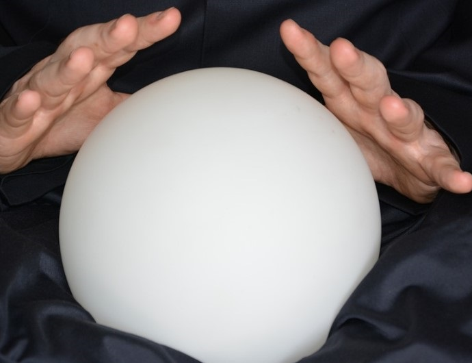 a crystal ball to see the future of oh