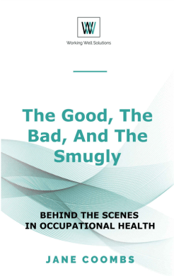 Front cover of book by Jane Coombs, The Good and Bad and the Smugly