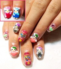 Feature: Hello Kitty 3D Nails by Nailsetcetera | Working ...