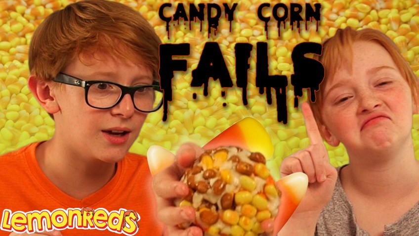 Candy Corn Challenge FAILS | Boy VS Girl Challenge | LemonReds Episode 21