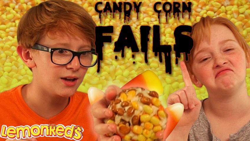 Candy Corn Challenge FAILS | Boy VS Girl Challenge | LemonReds Episode 21