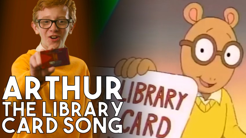 Arthur - the Library Card Song In Real Life