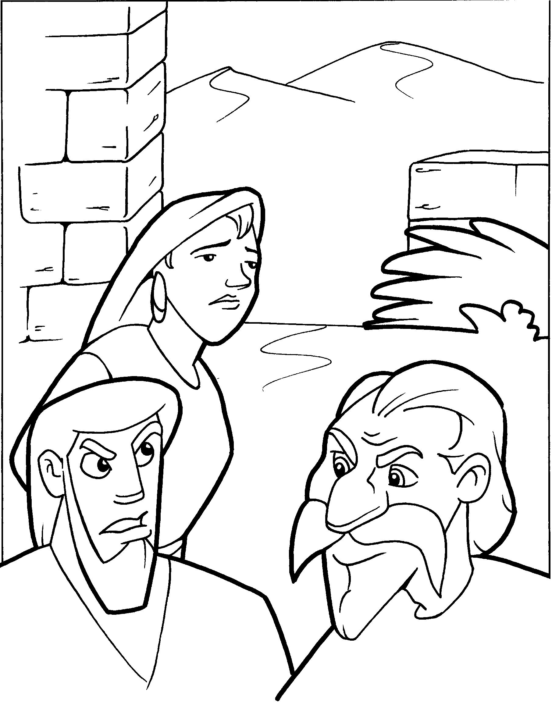 Printable Coloring Free Bible Story Superbook Coloring Pages