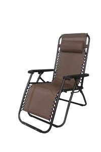 2x Zero Gravity Reclining Deck Lounge Sun Beach Chair