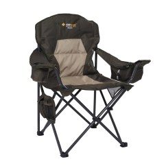 Extra Large Camping Chairs Eames Lounge Chair Legs Oztrail Monarch Picnic