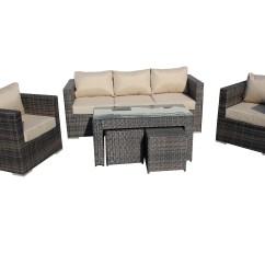 Rattan Indoor Sofa Bed Vancouver Wa Padang Wicker Lounge Outdoor Patio