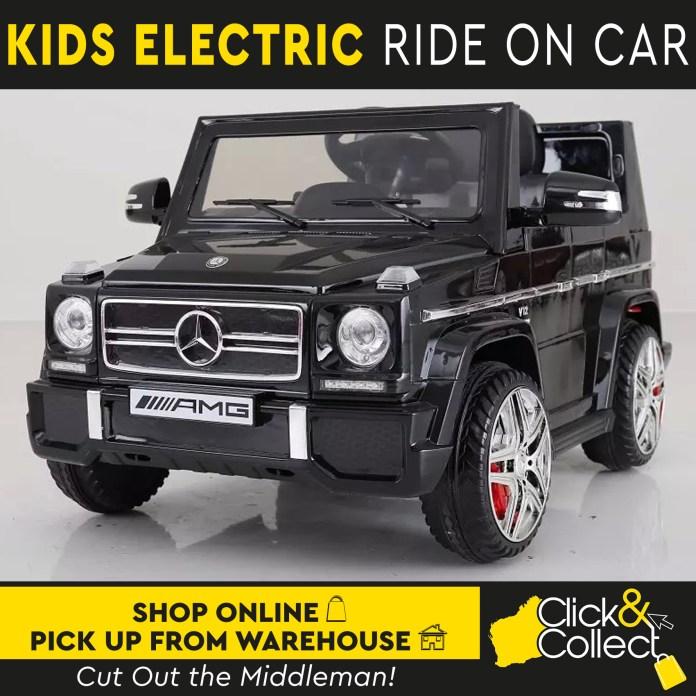 electric car ride 12v licensed mercedes benz kids children remote