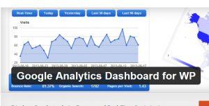 Google Analytics解析結果をWordPress(ワードプレス)管理画面から簡易チェックするプラグインを設定する方法