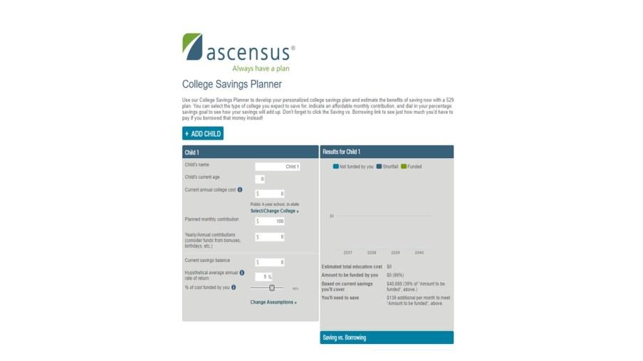 ascensus calculator