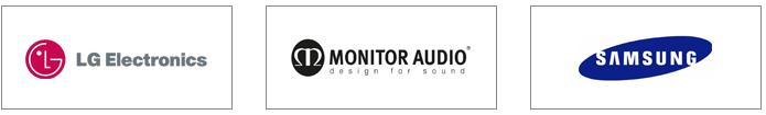 lg electronice, monitor audio, samsung, netgear, urc, rti