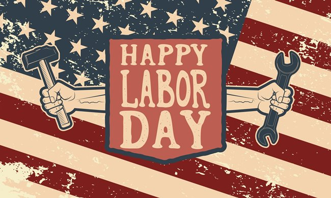 We're Closed for Labor Day