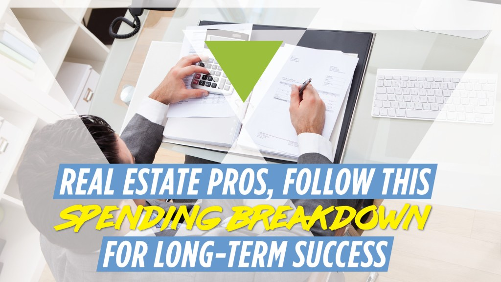 real estate agent budget breakdown