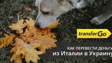 перевести деньги из Италии в Украину