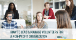 volunteers, leadership, non profit, organization