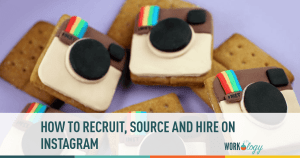 recruit, sourcing, hire, social media, instagram