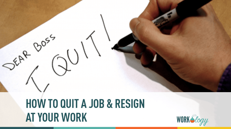 The Perfect Revenge How To Quit A Job Amp Resign At Work