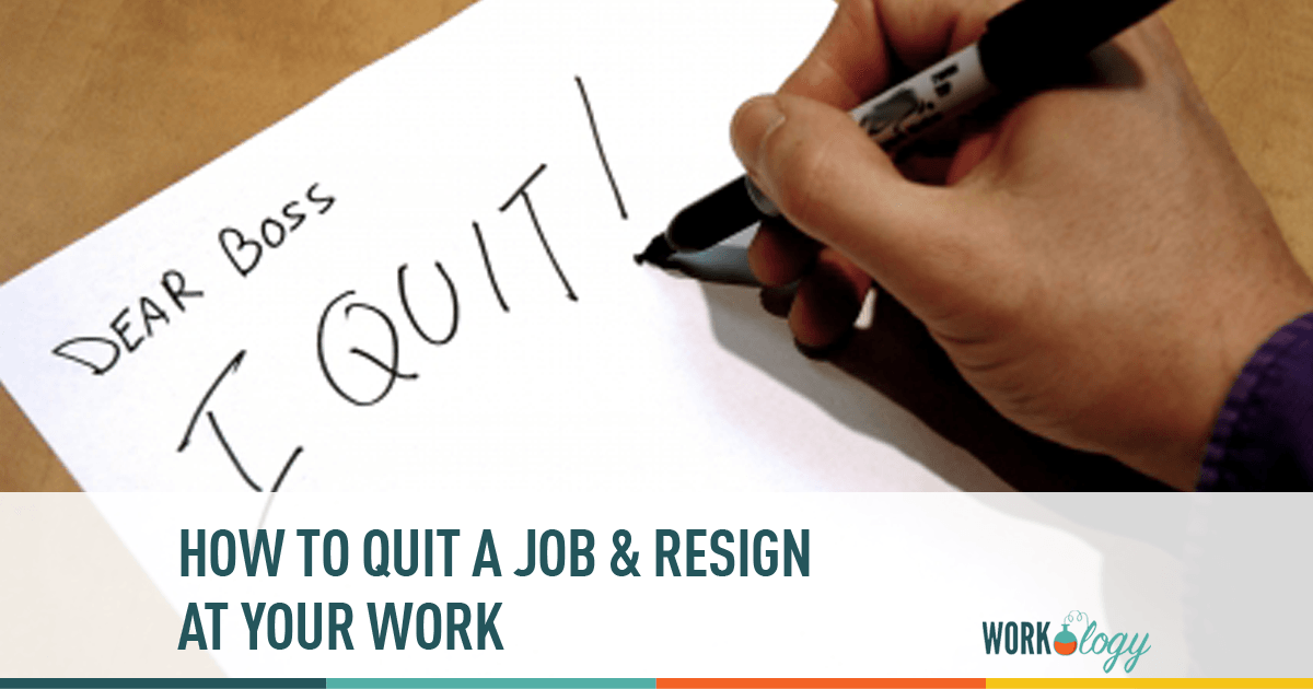 The Perfect Revenge: How To Quit A Job U0026 Resign At Work