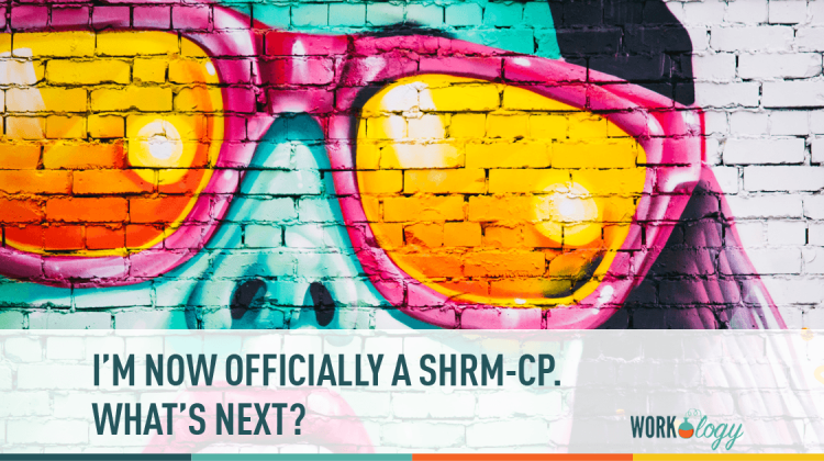 Im Now Offically A Shrm Cp Now What Workology
