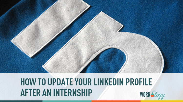 linkedin, profile, internship, connections