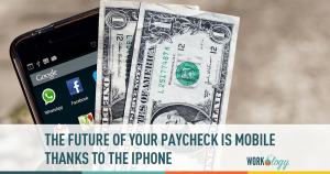 mobile, paychecks, mobile, money