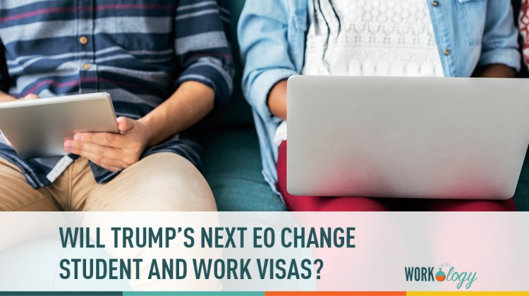 trump, executive order, student visa, work visa