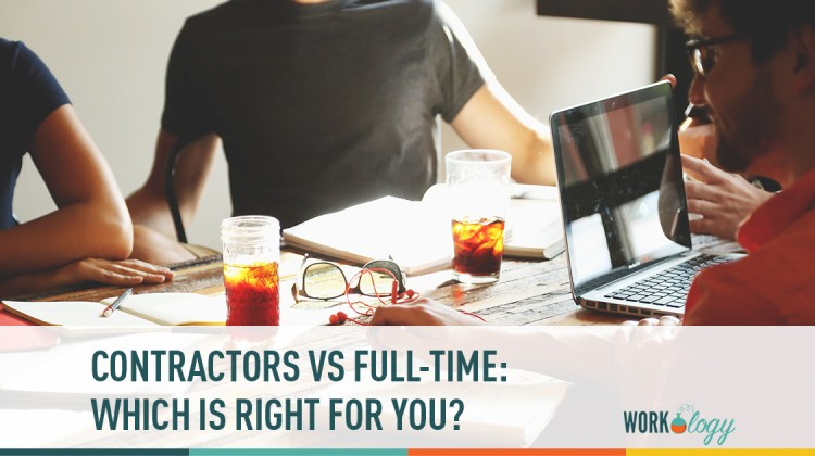 contractors vs full-time, contingent workers