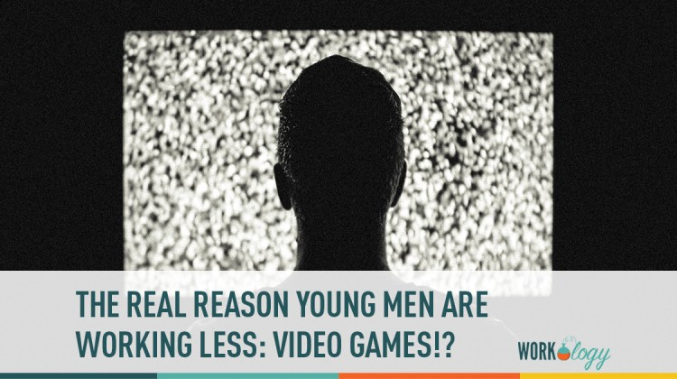 the real reason young men are working less - video games?