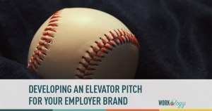 developing an elevator pitch for your employer brand