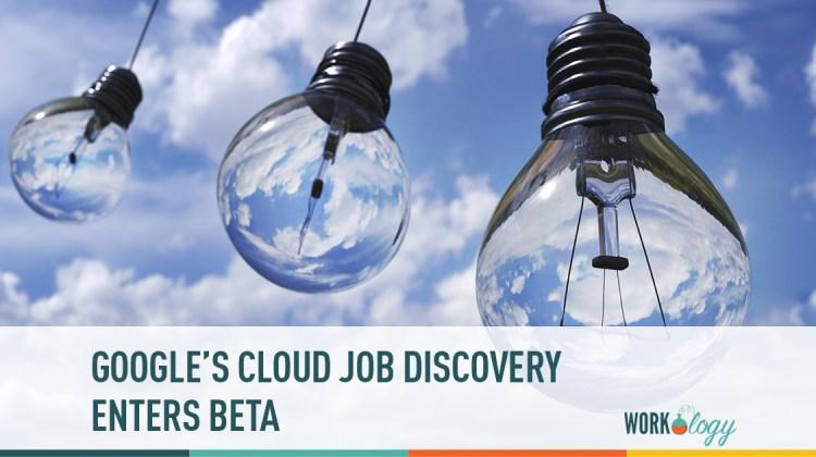 google cloud job discovery enters beta
