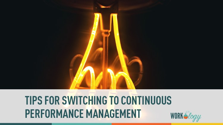 switching to continuous performance reviews
