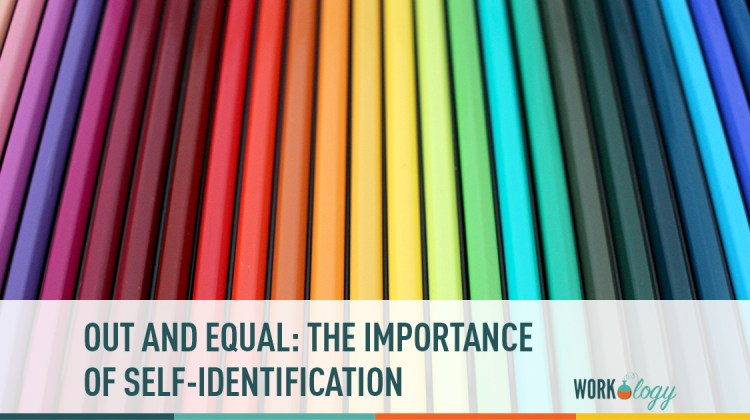 out at work: the importance of self-identification
