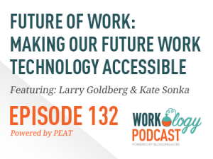 Workology Podcast Episode 132: Future of Work: Making Our Future Workplace Technology Accessible