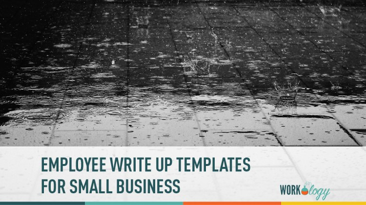 employee write up templates for small business workology