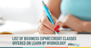 business hrci sphr recertification credits