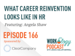 what career reinvention looks like in hr