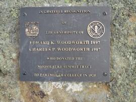 la montagne appartient maintenant au College de Darmouth