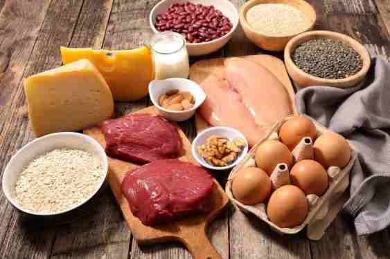 高タンパク質食材で筋肥大