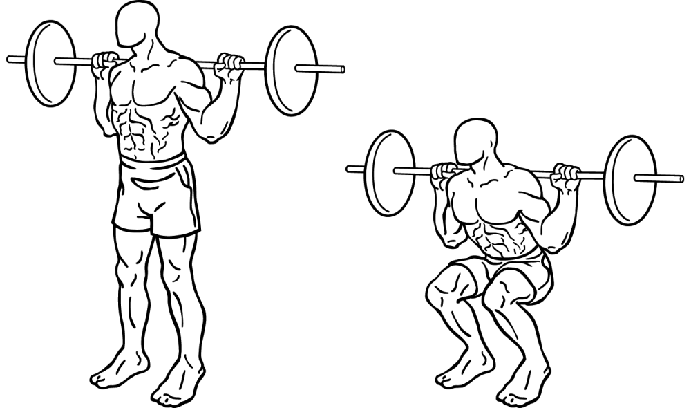 Squat Form For Sprinting