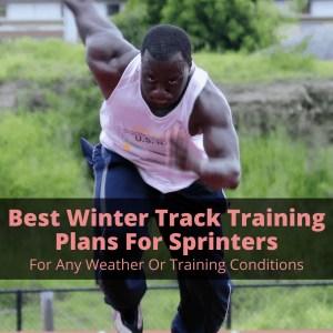 Winter track training
