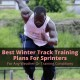 Winter track training