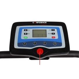 confidence-power-trac-pro-motorized-treadmill-led-panel