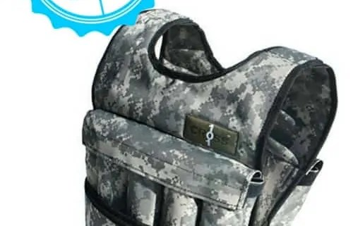 1. Cross 101 Adjustsable Weighted Vest Camo F