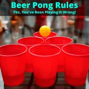 Rules of beer pong