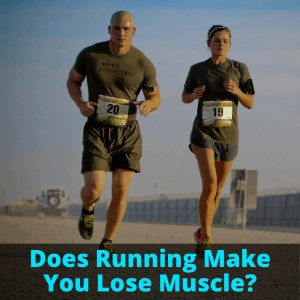 Two muscular runners