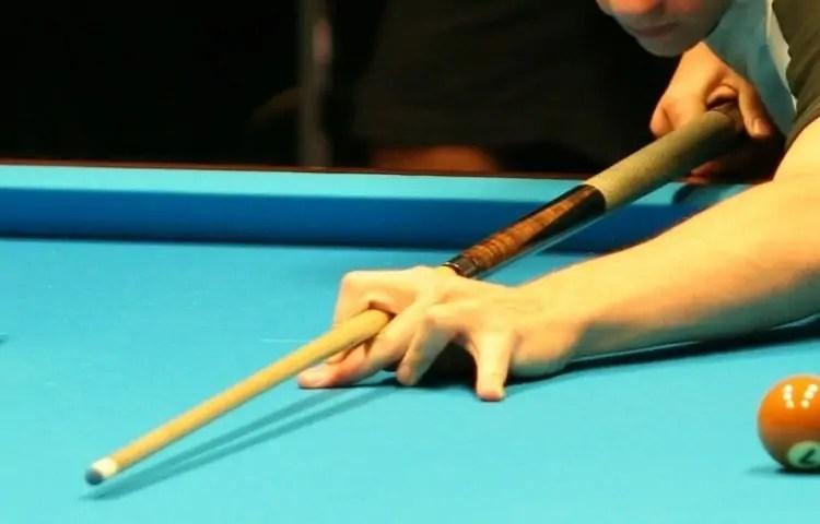 practice bridge for holding cue