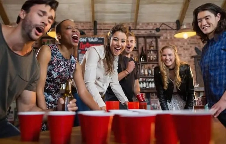 how to play fast beer pong