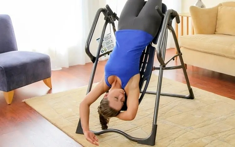 inversion table negative effects