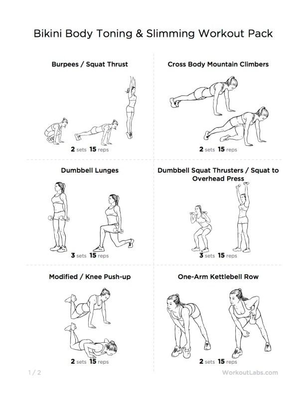 Beginner Gym Workout Female Toning