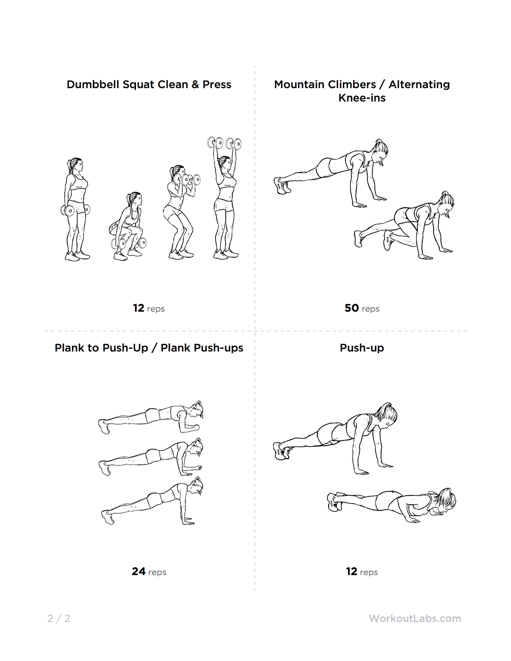 Kalya Itsines Bikini Body Guide: Arms Circuit Workout for