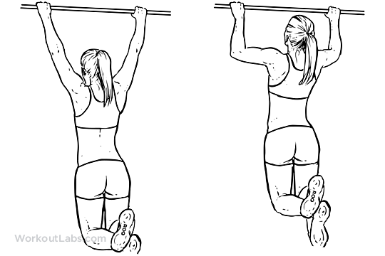 Workouts for women's thighs, pull ups exercise, best ways
